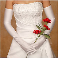 Opera Length Bridal and Formal Gloves - choice of many colors