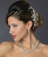 Freshwater Pearl and Crystal Wedding Hair Comb
