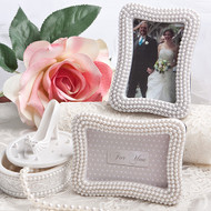 100 Pearl Frame Wedding Place Card Holders