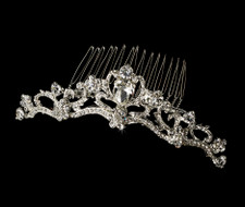 Princess Rhinestone Bridal Tiara Hair Comb - sale!