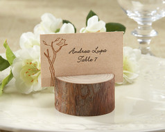 100 Rustic Wedding Wood Place Card Holders