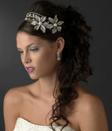 Bold Wedding Rhinestone and Pearl Headband