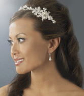 Freshwater Pearl and Crystal Bridal Wedding Headband