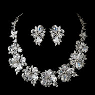 Breathtaking Cubic Zirconia Wedding Jewelry Set - sale!