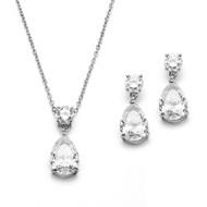 5 Sets Simply Elegant CZ Bridesmaid Jewelry
