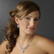 Light Sapphire Prom and Bridesmaid Jewelry