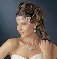 Kim Kardashian Inspired Headband and Matching Jewelry Set