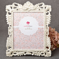 8 Baroque Antique Ivory 8 x 10 Frames with Gold Leaf