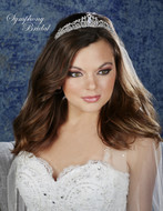 Symphony Bridal Regal Wedding Tiara 7930CR