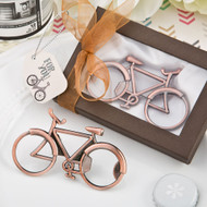 72 Antique Copper Vintage Bicycle Bottle Opener Wedding Favors