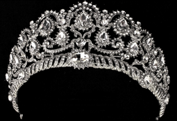 Rhinestone Wedding and Quinceanera Tiara hp4299- sale!