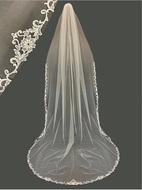 Royal Cathedral Venice Lace Wedding Veil