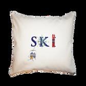 Canvas Pillow- SKI