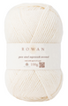 PURE WOOL WORSTED - Soft Cream (KT2040)