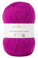 PURE WOOL WORSTED - Magenta (KT1995)
