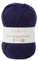 PURE WOOL WORSTED - Navy (KT1999)
