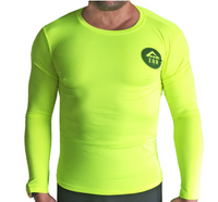 Azur LS DOWNWIND TOP - HI VIS