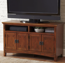 TV Stand Cabinet 50 Inch, Rustic Style