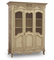 Wire Armoire with wire Antique Cream