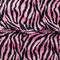 Zebra pink and black