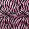 Zebra pink and black