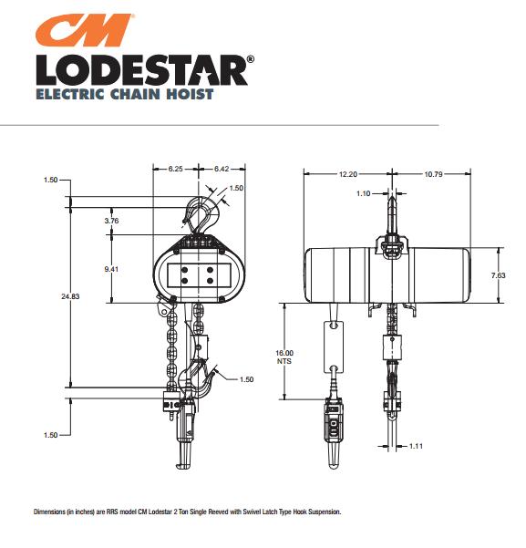 cm lodestar 12 ton model f wiring diagrams