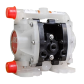 "ARO PD01P-HKS-KTT-A 1/4"" Non Metallic Compact Diaphragm Pump(PTFE)"