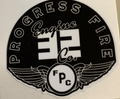 Progress Engine Company Helmet Stickers