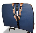 SJ-101-M, Safe Journey Seat Mount Only for Besi Medium Harness (COLOR: BURGUNDY)