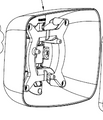 8960/SHELL,  Mirror Housing for 8960 Series