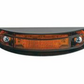 ECVML122Y, Sound Off LED 120 Series Marker Light w/Mounting Guard (Amber)
