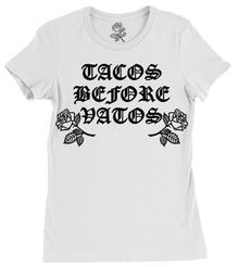 Tacos Before Vatos Tee