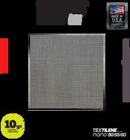 Textilene® nano™ 55 Black 17 x 17 x 100'
