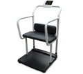 Rice Lake 250-10-4 Bariatric Scale with Handrail and Chair Seat