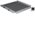 Rice Lake RL-350-6 Dual-ramp Portable Bariatric Wheelchair Scale