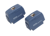 DSX-PC5ES: Fluke Networks SET OF DSX CAT 5E ADAPTERS WITH SHIELDED CAT 5E PATCH CORD JACKS