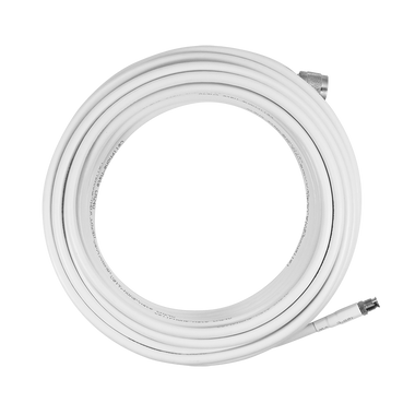 SC-004-10-FN | SureCall 10 feet SC-240 Ultra Low Loss Coax Cable with FME-Female/N-Male Connectors - White