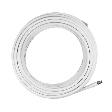 SC-004-20-FF | SureCall 20 feet SC-240 Ultra Low Loss Coax Cable with FME-Female/FME-Male Connectors - White