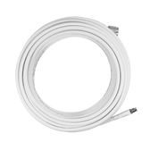 SC-004-20-FN   SureCall 20 feet SC-240 Ultra Low Loss Coax Cable with FME-Female/N-Male Connectors - White