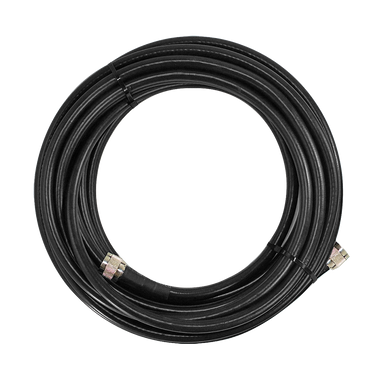 SC-001-30 | SureCall 30 feet SC-400 Ultra Low Loss Coax Cable with N-Male Connectors - Black