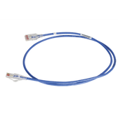 OR-RDC605-06 | Ortronics:  28AWG REDUCED DIAMETER CAT 6 CHANNEL CORD, BLUE, 5'