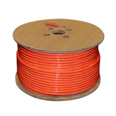 SC-PL-1000 | SureCall 1000 Feet SC-400 Ultra Low Loss Coax Plenum-Rated Cable. Spool, Connectors not included - Orange