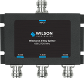 Wilson Electronics 859980: Splitter 3 Way -4.8 dB 700-2700MHz w/N Female Connectors, 75 Ohm
