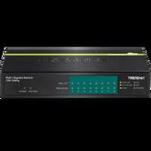 TPE-TG80g | TRENDnet: 8-port Gigabit GREENnet PoE+ Switch