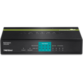TPE-S44 | TRENDnet: 8-port (4 10/100, 4 PoE) PoE Switch