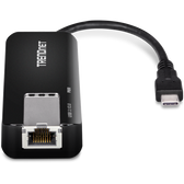TUC-ET5G | TRENDnet: USB-C 3.1 to 5GBASE-T Ethernet Adapter