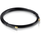 TEW-L102 | TRENDnet: Low Loss RP-SMA Male to RP-SMA Female Antenna Cable - 2m (6.5 ft.)