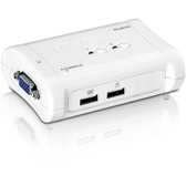 TK-207K   TRENDnet: 2-port USB KVM Switch Kit (include 2 x KVM Cables)