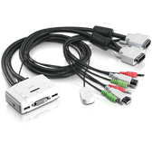 TK-214i | TRENDnet: 2-port DVI Audio KVM Switch