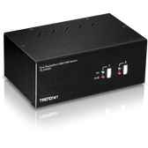 TK-240DP | TRENDnet: 2-Port Dual Monitor Display Port KVM Switch